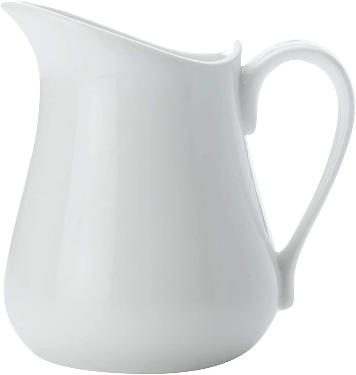 Maxwell and Williams Basics Milk Jug, 4-Ounce, White