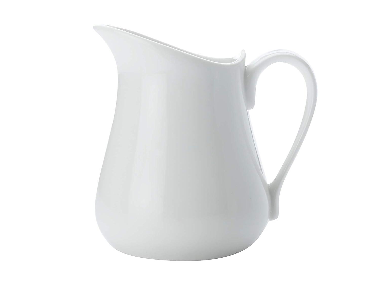 110 ml Porzellan wei/ß wei/ß Maxwell Williams White Basics Wasserkrug//Saftkrug porzellan