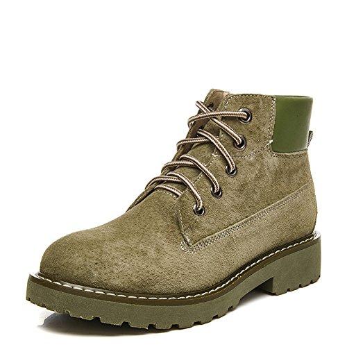 Vintage Martin Stiefel,British Wind And Spring Boots,Leder Flat Stiefel,Dick Heels Short Stiefel F
