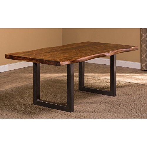 Hillsdale Furniture Rectangular Dining Table in Gray Finish