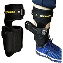 TOPMEET Upgraded Ankle Holsters for Pistols,not Ordinary