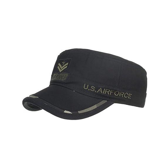 TWIFER Gorras de algodón Lavado Caps Militares Cadete Diseño ...