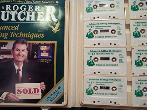 Real Estate Selling Advanced Techniques By Roger Butcher (Book & 8 Cassettes) (Noted How to Expert) (Roger Butcher Real Estate compare prices)