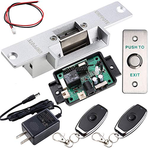 - UHPPOTE Door Access Control Kit with Electric Strike Lock Remote Control