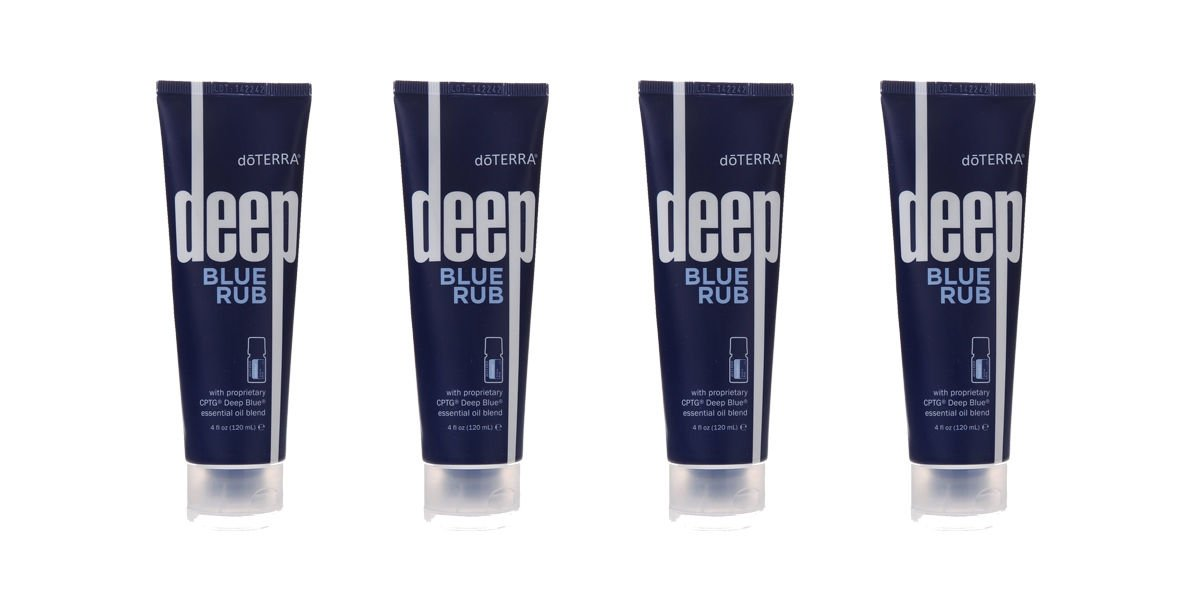 doTERRA Deep Blue Rub, 4 oz Pack of 2