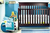 New Baby Boy Ocean Whale 8pcs Crib Bedding Set with Bumper