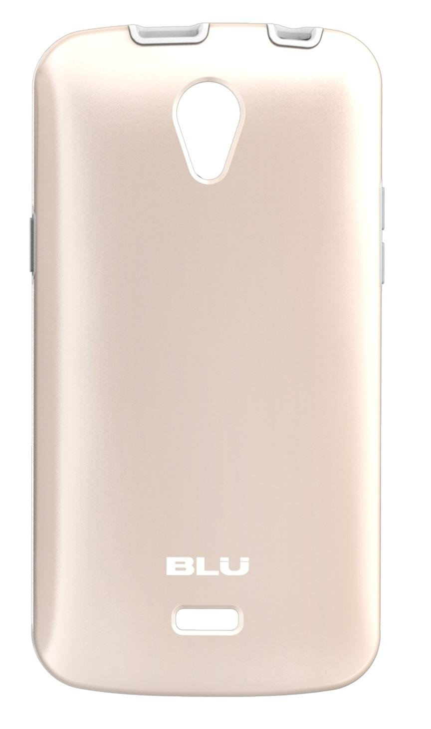 the latest 5df73 2298c BLU Studio X Plus ArmorFlex Case -White/Gold