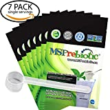 Prebiotic Powder Supplement: UNFLAVORED Fiber Digestive Gut Health Prebiotics by MSPrebiotic. Best Natural