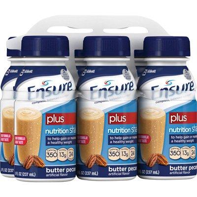Ensure Plus Butter Pecan Bottles 24 X 8oz Case RETAIL *2 CASE SP* ()
