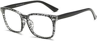 Juleya Occhiali per uomo Donna - Occhiali da vista trasparenti + custodia per occhiali 1228YJJ02