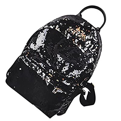 THEE Backpack Purse Bling Sequins School Bags for Teens Women 60%OFF