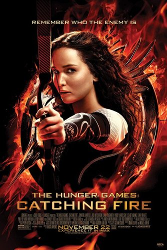 "The Hunger Games: Catching Fire - Movie Poster (Regular Style) (Size: 24"" x 36"") (By POSTER STOP ONLINE)"