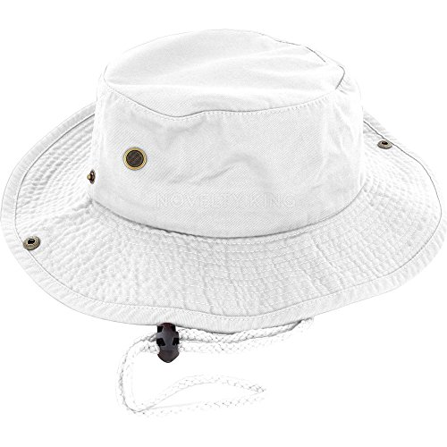 DealStock 100% Cotton Boonie Fishing Bucket Hat with String
