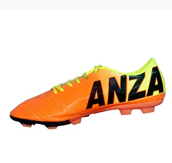 Buy Anza Football Shoes 5 (Neo) Online at Low Prices in India - Amazon.in 5ddea1dd380