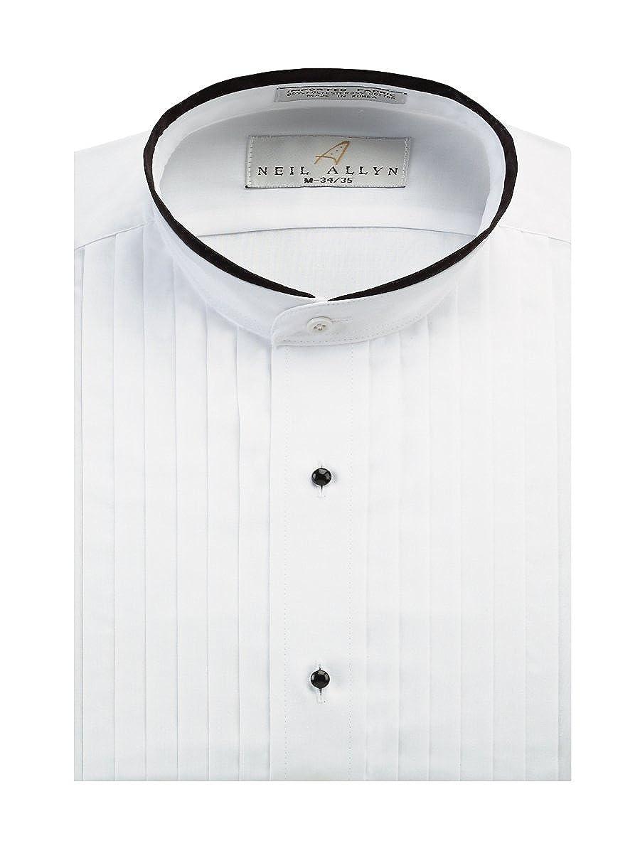 Neil Allyn Men's Banded Collar 1/2