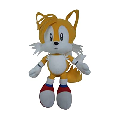 "GE Animation Sonic The Hedgehog: Tails 7"" Plush: Toys & Games"