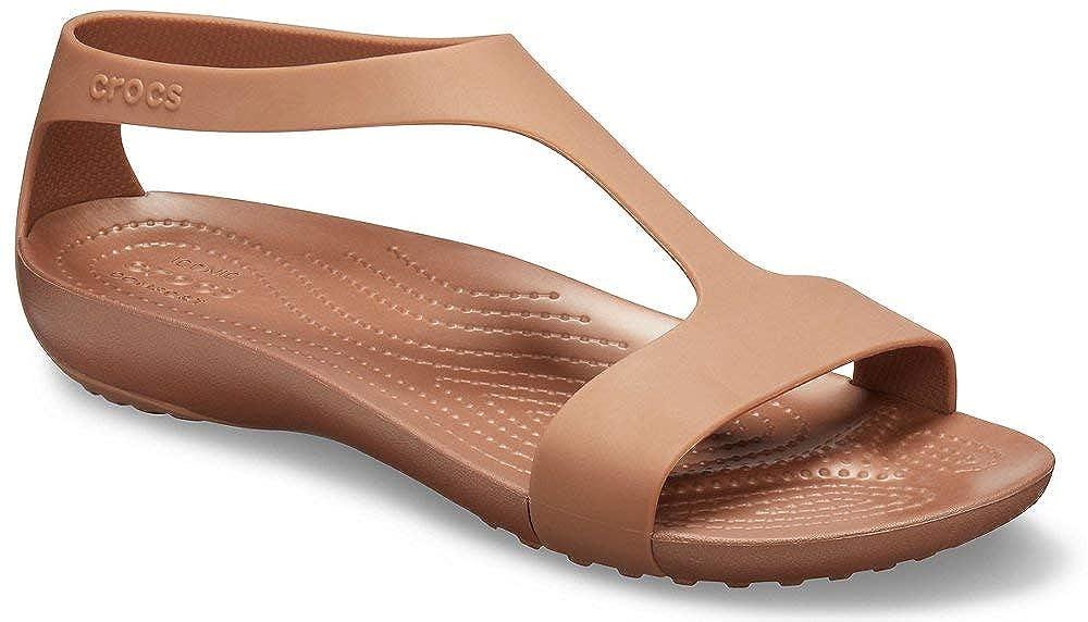 Crocs Serena Sandal Women Sandalias de Punta Descubierta para Mujer