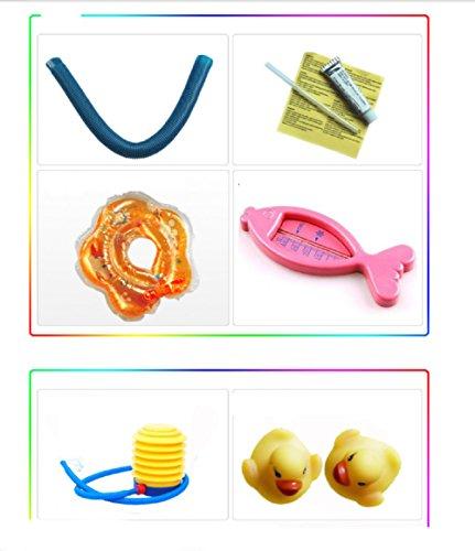 KLWJ Inflatable baby inflatable pool, Bathtub, Bathing pool, Game pool, Air pump-A by KLWJ (Image #5)