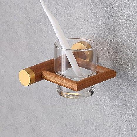 DHWM-Nuevo estilo baño de hotel Marco, anti - moho cepillo de dientes, Wash Cup Holder, retro baño cepillo de dientes: Amazon.es: Hogar