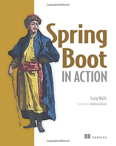 Spring Boot in Action by Manning Pubns Co