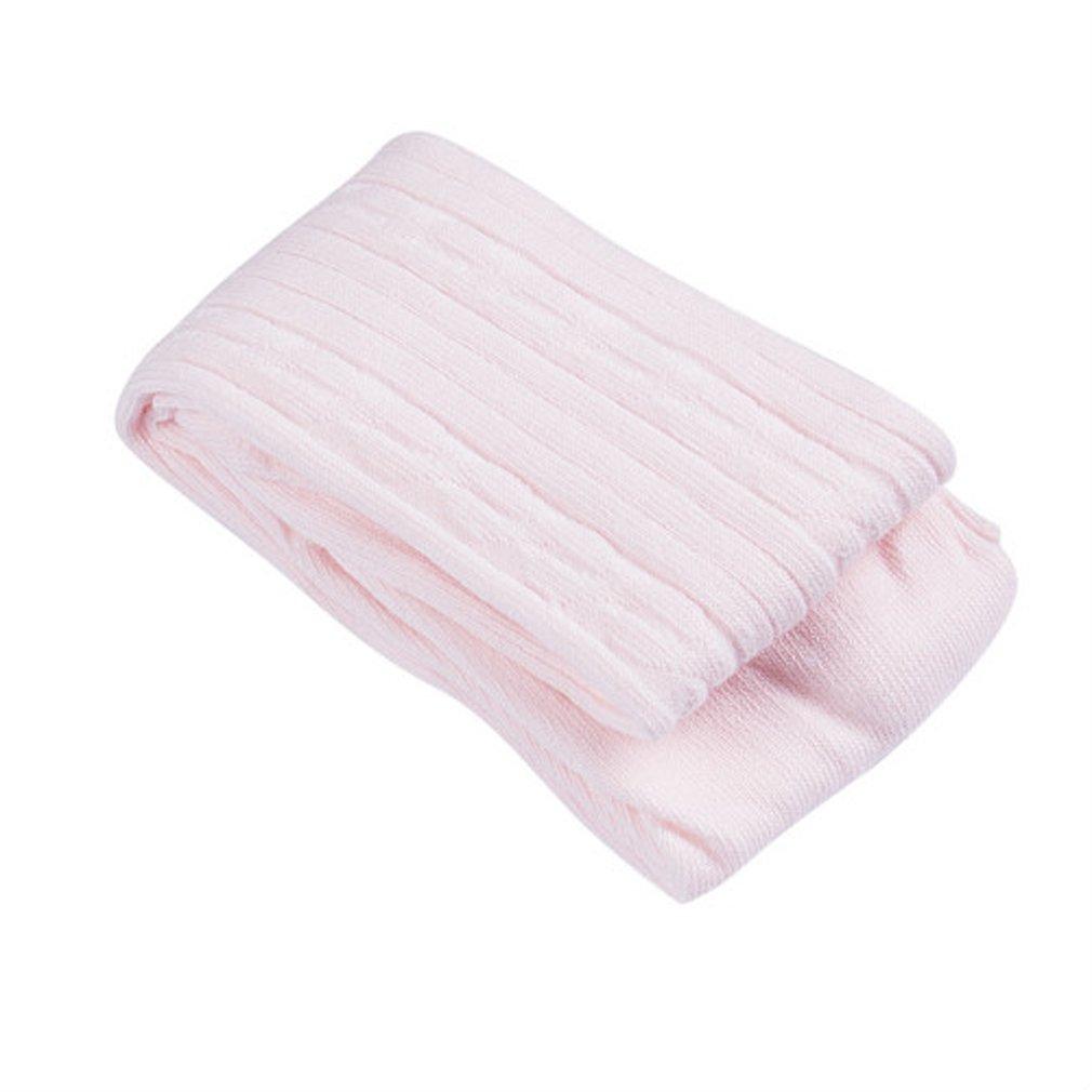 Baby Toddler Kids Girls' Knit Cotton Tights Pantyhose Leggings Stocking Pants (Light pink, 2-4 Years) by OKPEACE (Image #1)