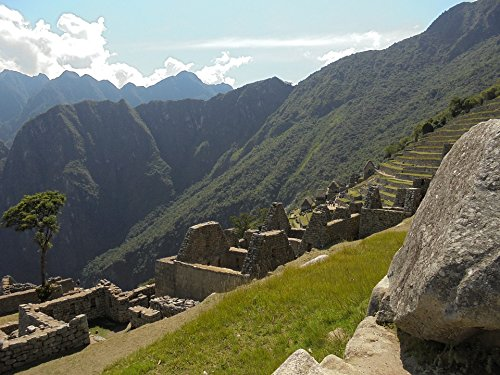 Home Comforts Laminated Poster Peru Inca Trail Backpackers Inca South America Poster Print 11 x 17