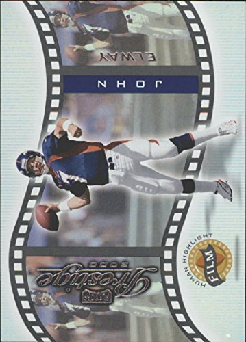 2000 Playoff Prestige Human Highlight Film #HH5 John Elway - NM-MT