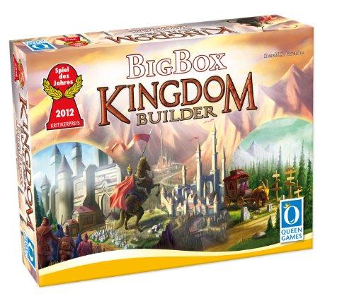 Queen Games 6112 - Kingdom Builder Big Box
