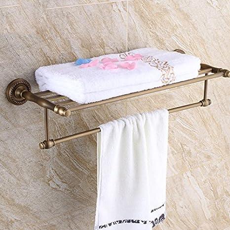 ZHFC mercancías sanitarias Cobre Antiguo Toallero Cobre baño Toalla de baño Cuarto de baño WC Toalla de la Toalla de Papel Traje Traje,Caliente de la Venta ...