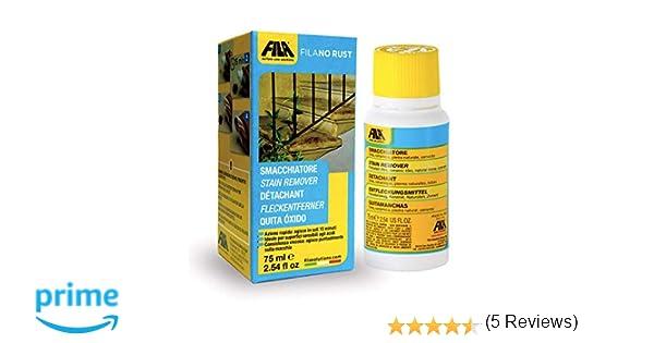 Fila No Rust Quitamanchas elimina el óxido, elimina el óxido de mármol, granito, gres, cocido y cemento