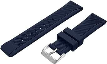 Silicone Sport Bracelet Wrist Band for Samsung Gear S3 - Dark Blue