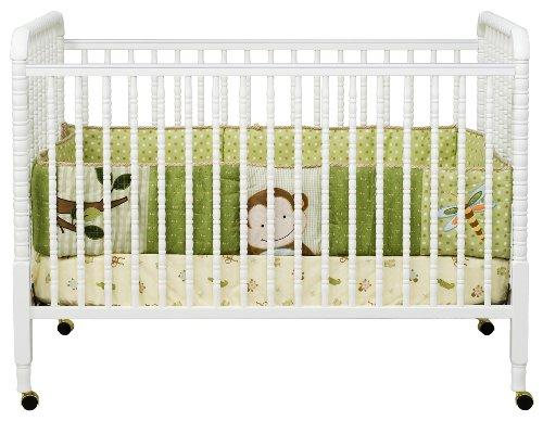 DaVinci Jenny Lind Stationary Crib, White by DaVinci (Image #1)