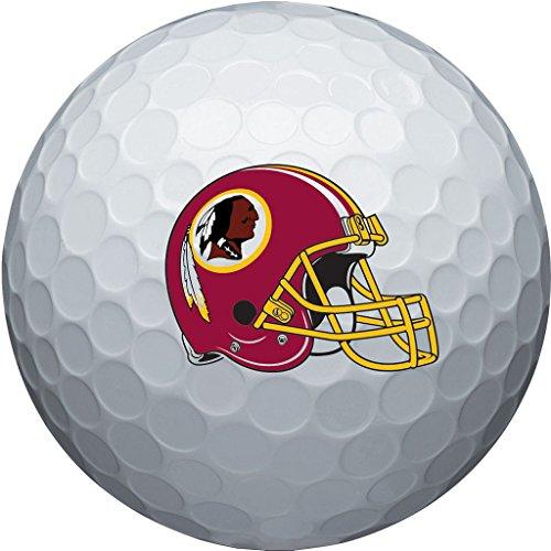 (NFL Washington Redskins Golf Ball, Pack of 6)