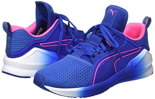 Lace Wn's Pink Blu knockout 01 Donna Fierce Indoor Sportive Puma Scarpe Blue true 5PEfwOq