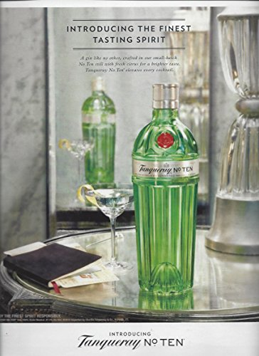 magazine-advertisement-for-2015-tanqueray-no-ten-finest-tasting