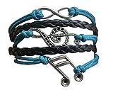 Music Bracelet - Music Jewelry - Music Gift - Treble Clef Jewelry - Music Note- Music Lover Jewelry Gift