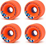 Orangatang Stimulus Longboard Wheels - Orange 4 pack