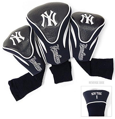 New York Yankees Golf Club 3 Piece Contour Headcover Set ()