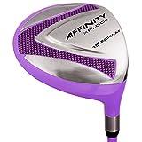 AFFINITY Golf Xplode Purple 5 Fairway Wood, Ladies, Right Hand, 19 Degree, Women's Flex