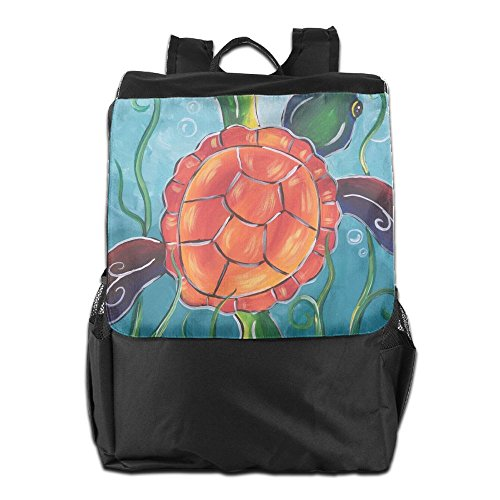 School Men Backpack Turtles Strap Women Sea Dayback Personalized Storage Outdoors Camping For And Shoulder Adjustable HSVCUY Travel f0qXaxw0