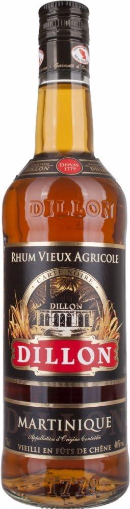 Dillon Vieux Carte Noire Rum - 700 ml: Amazon.es ...