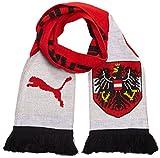 PUMA Schal ÖFB Fan Scarf, Red/White/Black, OSFA, 053054 01