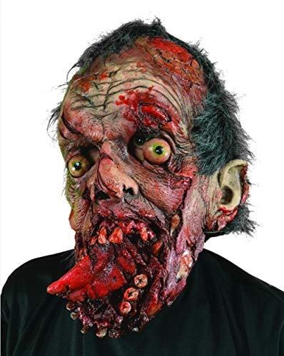 Zagone Bite Your Tongue Mask, Gory Zombie