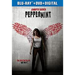 PEPPERMINT arrives on Digital Nov. 20 and on Blu-ray, DVD, On Demand Dec. 11 from Universal Studios