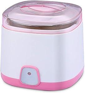 DRLYI Yogurt Machine Pink Multi-function Stainless Steel Liner Yogurt Machine Safe Automatic Household