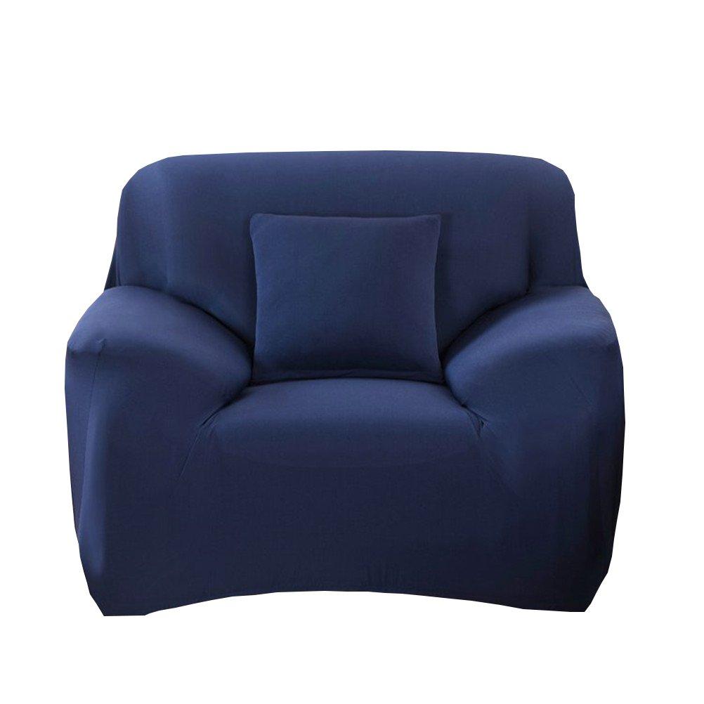 WINOMO 1-Pezzo Copripoltrona Copridivano Elasticizzato Fodera per divano (Navy)