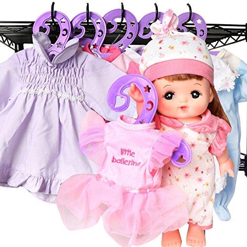 Bambola Plastica Brillante Ganci 24 Di Dal Confezione Sogno Adattano Adattano Americane Si 18 Vestito Robuste Ganci Di Si Scavato Vivo Pollici viola Bambino Accessori Vestiti 12 Le Bambole Bambola Da EXxwA8Xq5n
