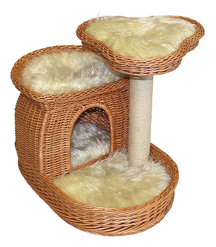 How To Weave A Cat Basket : Awesome cat beds webnuggetz