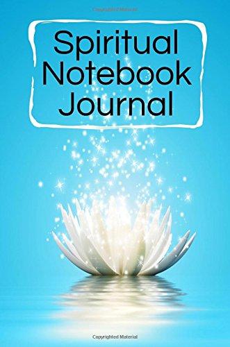 Spiritual Notebook Journal: Blank Prayer Journal, 6 x 9, 108 Lined Pages