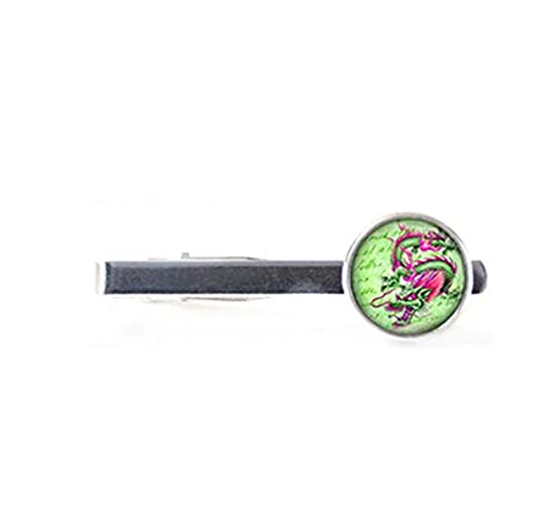 Clip de Corbata con diseño de dragón de Fuego, para Corbata ...